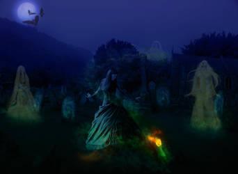 Dancing with the Spirits by Zankruti-Murray