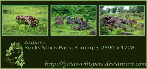 Rocks Pack by Zankruti-Murray