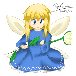 Touhou - Blue Fairy by popfan95b