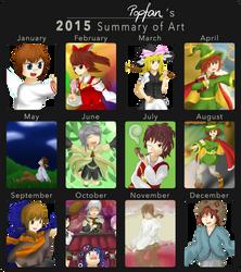 2015 in Review by popfan95b