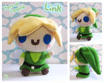 Legend of Zelda: Link Plushie by Mazzlebee