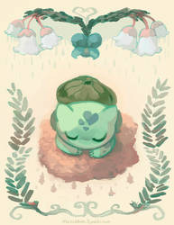 Bulbasaur by Mazzlebee