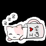 Sleepy Kitty by ChocolateJuju