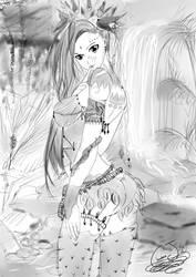 Plant Princess, Yulia by ChocolateJuju