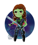 Gamora by ChocolateJuju
