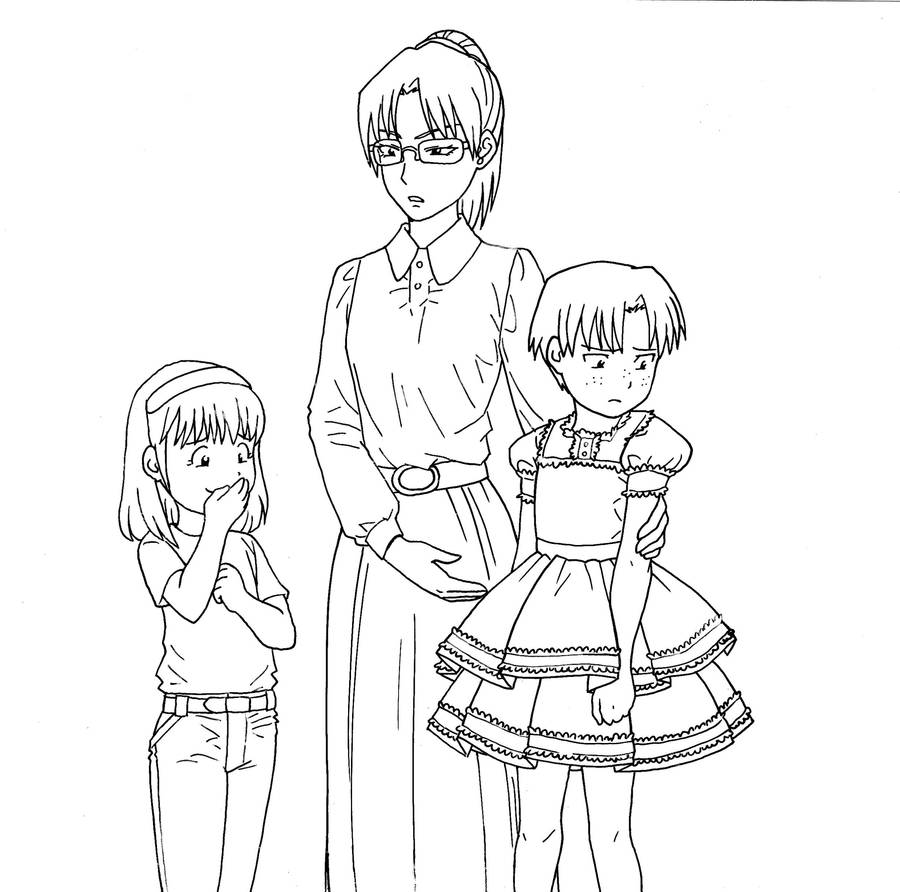 crossdressing coloring contest examples by