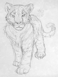 Short tiger by Coline25