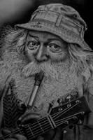 One man  band by AngelasPortraits