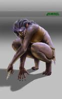 werewolf woman by Luis-Salas