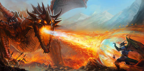 Red Dragon by Luis-Salas