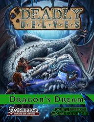 A Dragon's Crystal Den by Luis-Salas
