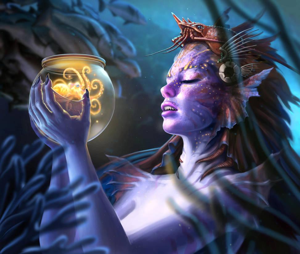 Mermaid by Luis-Salas