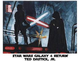 Star Wars Galaxy 4 - Duel by tdastick