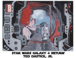Star Wars Galaxy 4 - Leia R2D2 by tdastick