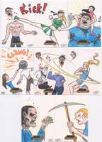 Zombies vs Cheerleaders 2 by tdastick
