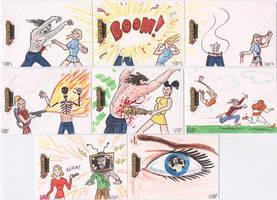Zombies vs Cheerleaders 3 by tdastick
