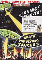 Earth vs The Flying Saucers by tdastick