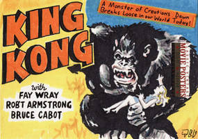 King Kong by tdastick