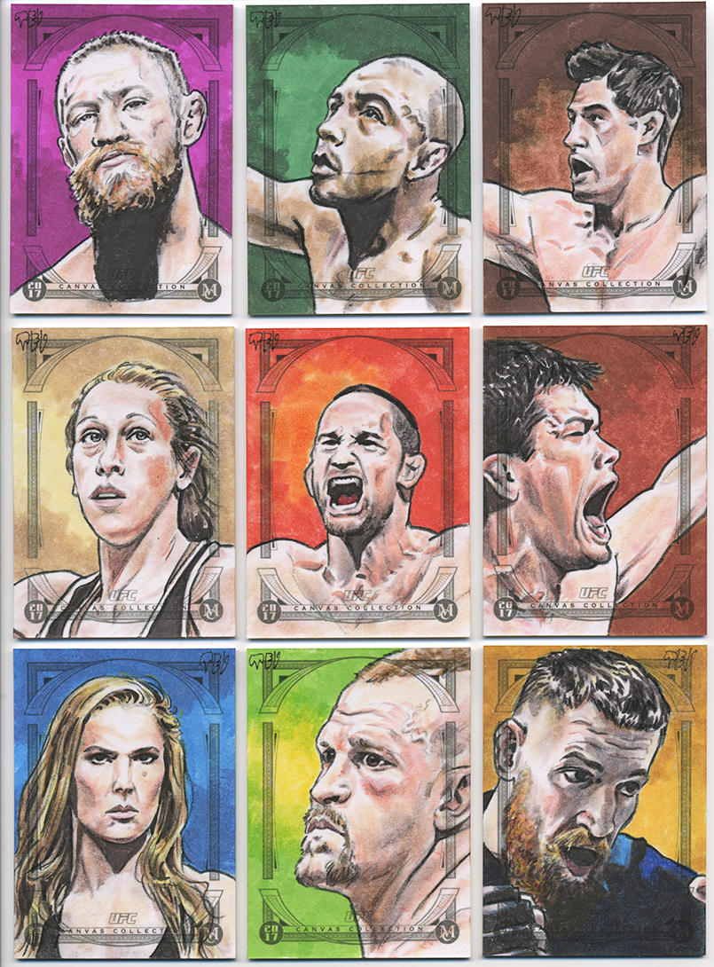 2018 UFC Canvas Collection - 03 by tdastick