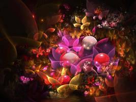 Autumn Flowers by SARETTA1