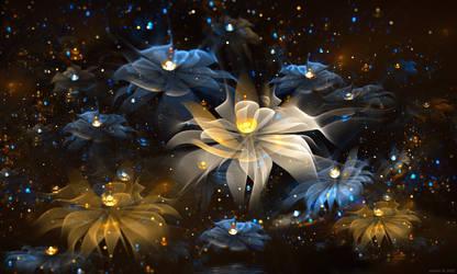 Rain of Lights by SARETTA1