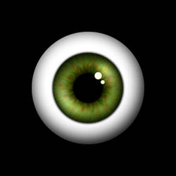 Green Eye by malinselene