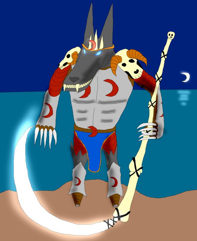 Asaunatair, the Blood Moon King by KangarooHistorian