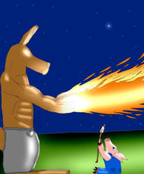 Freyyer and Cupig by KangarooHistorian