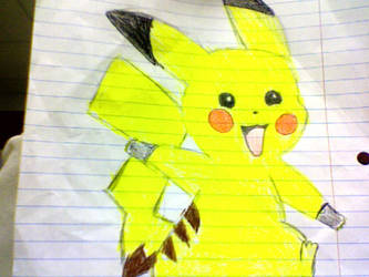 pikachu!!! by XxrockyredbellyxX