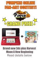 Pumpkin Online Fan-Art Contest !OVER! by Pumpkin-Days-Game
