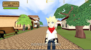 Town Screenshot in progress by Pumpkin-Days-Game
