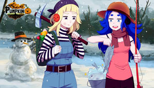 Winter Time by Pumpkin-Days-Game