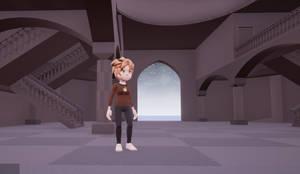 Inside the Wahoo Temple (In progress) by Pumpkin-Days-Game
