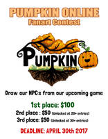 Pumpkin Online Contest! $100 first prize by Pumpkin-Days-Game