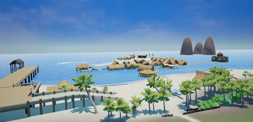 Pumpkin Online Wahoo Beach (In development) by Pumpkin-Days-Game