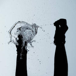 Water explosion by Silviaa92