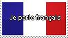 I speak French STAMP by DorothyBomeraang