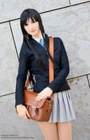 Akiyama Mio V2 II by black---butterfly