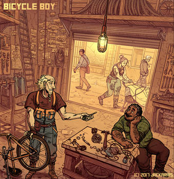 Bicycle Boy CH5 Cover by Jackarais