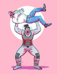 MORRIS AND ALSOOMSE BEAT UP by Jackarais