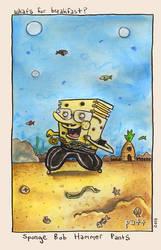 spongebob hammerpants by PattKelley