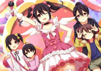 Yazawa Family~ by MMrailgun