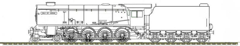 The Inmond Valley Thunder Class Design Drawings by ThatDesignerOfLocos