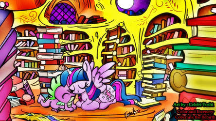 Time to be with my best friend by Coberlink