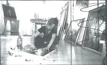 Ingvild Nilsen at the studio some years ago :) by ingvildnilsen