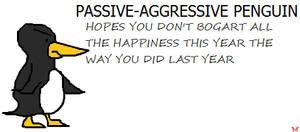 Passive-Aggressive Penguin by penguintruth
