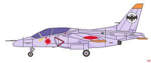 801 T.T.S. Airbats - Kawasaki T-4 by penguintruth