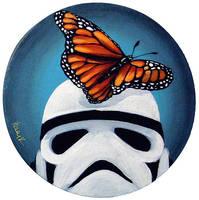 Stormtrooper Butterflies Series 1/9 by TrampLamps