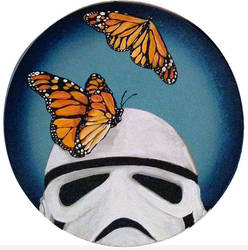 Stormtrooper Butterflies Series 6/9 by TrampLamps