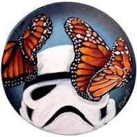Stormtrooper Butterflies Series 9/9 by TrampLamps